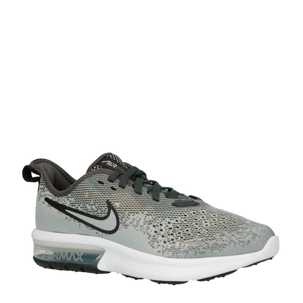 Nike  Air Max Sequent 4 (GS) sneakers, Grijs/zwart