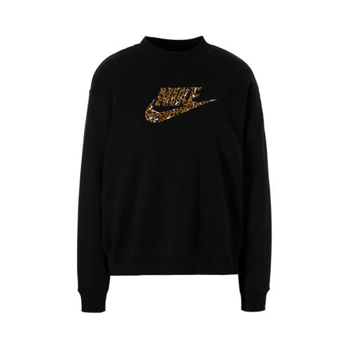 Nike sportsweater met printopdruk zwart kopen