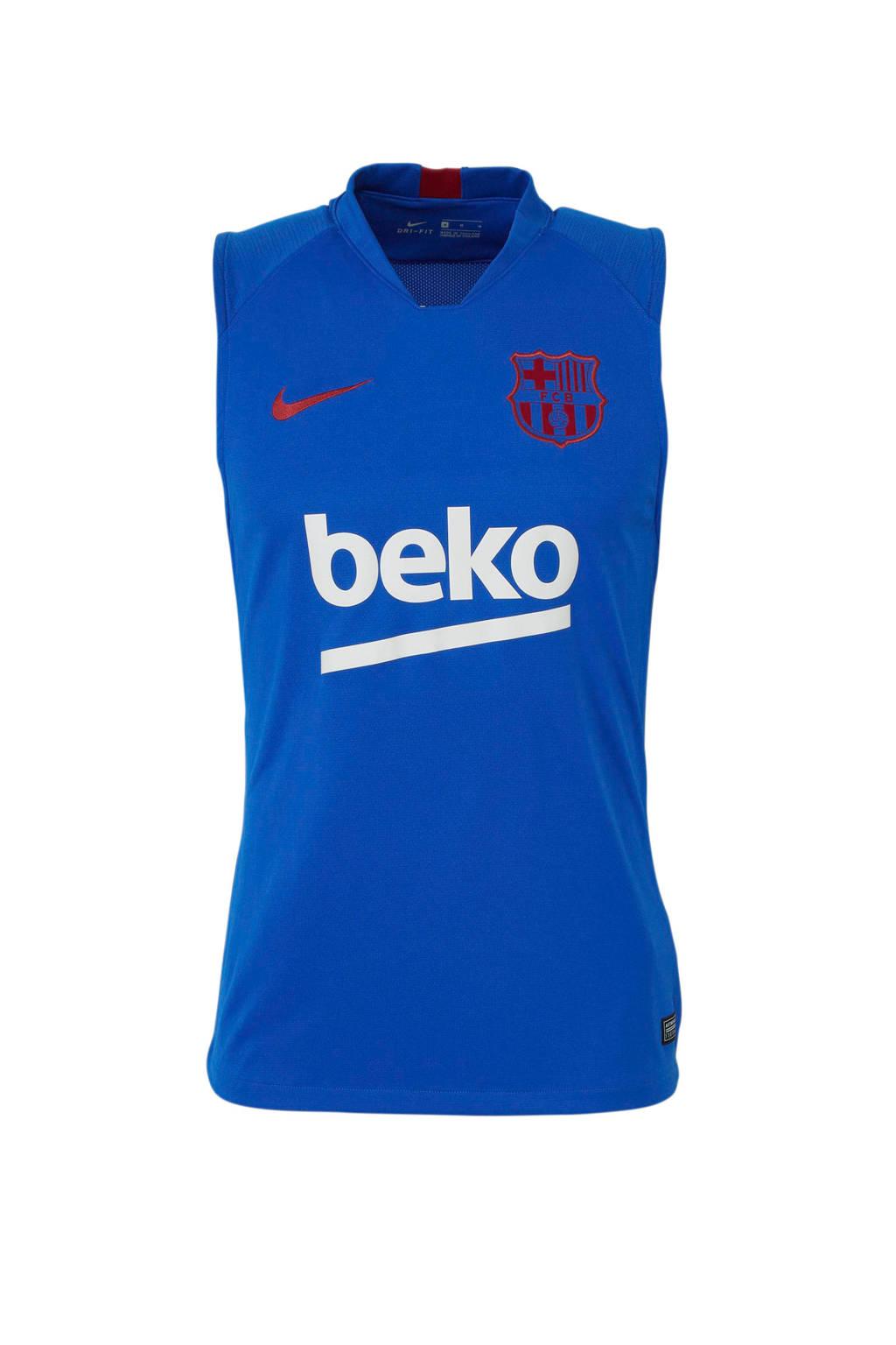 Nike Senior FC Barcelona voetbalshirt blauw, Blauw