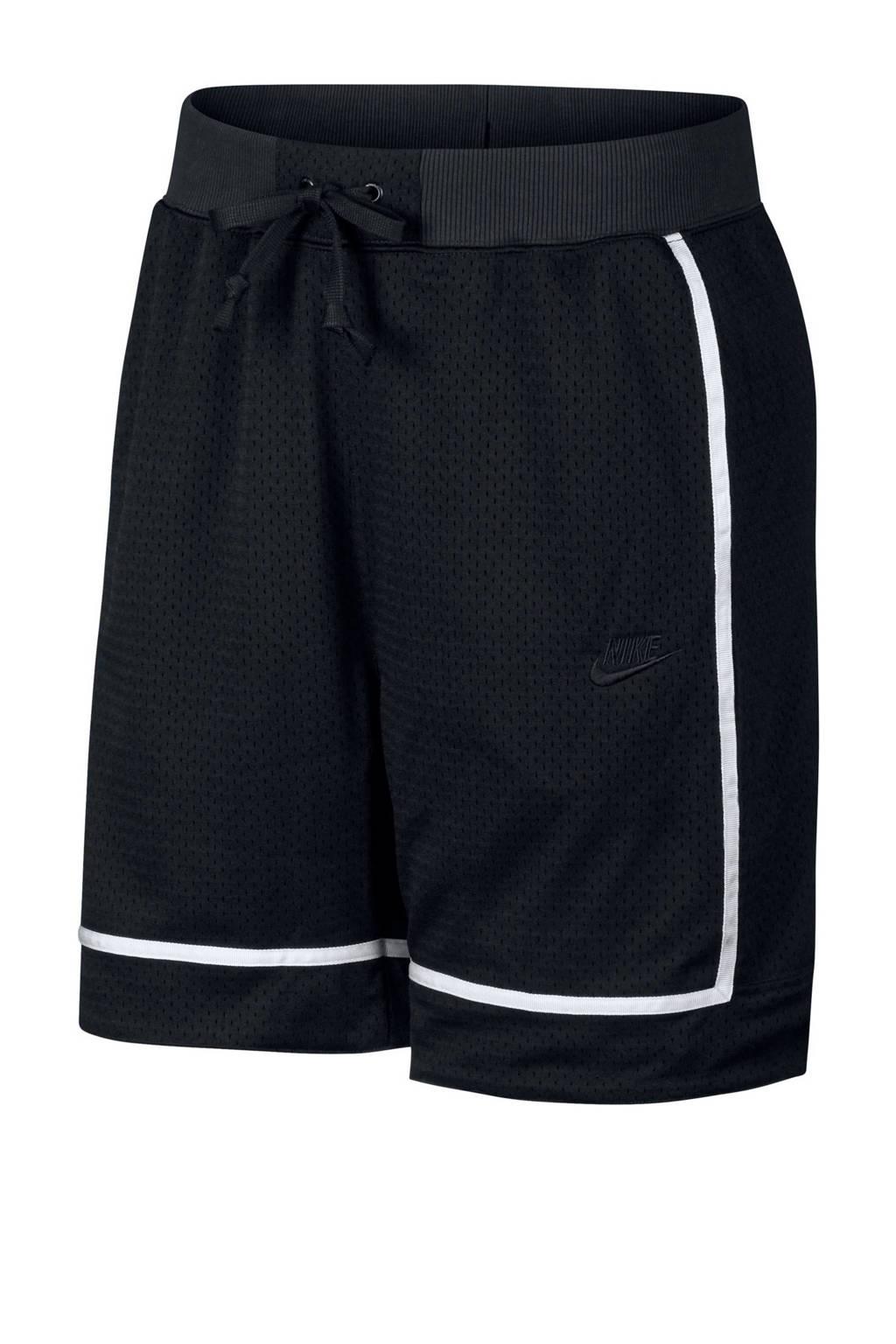 Nike   basketbalshort zwart, Zwart