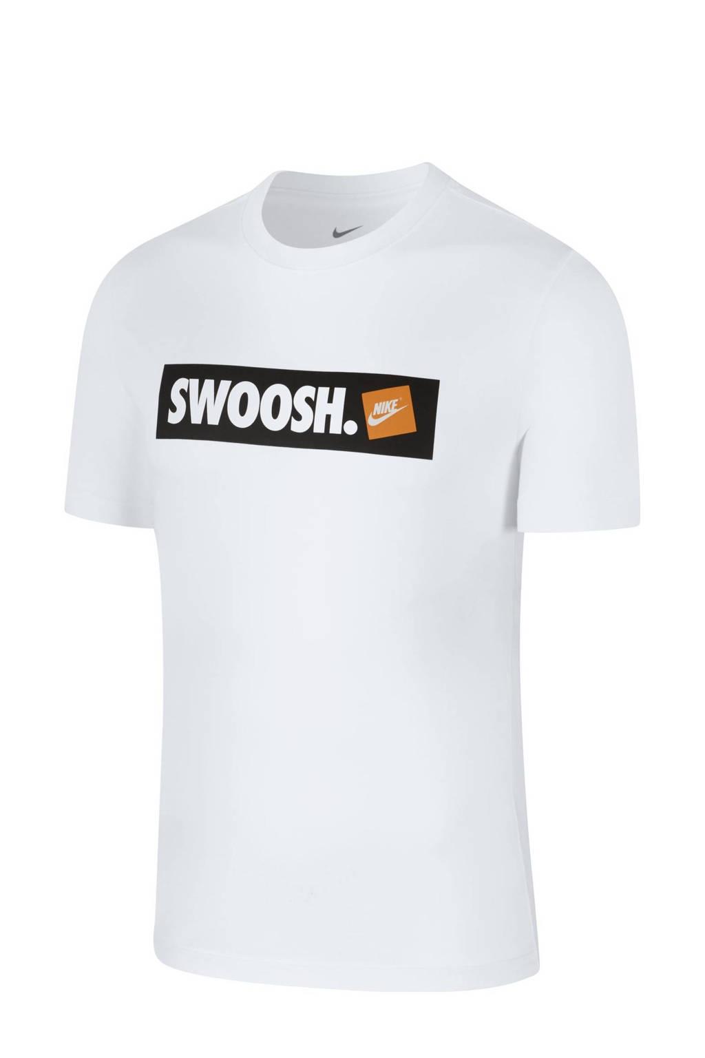 Nike   T-shirt met printopdruk wit, Wit