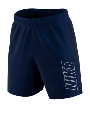 Senior  voetbalshort donkerblauw