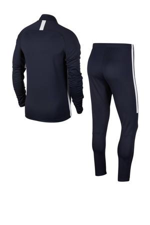 trainingspak donkerblauw/wit