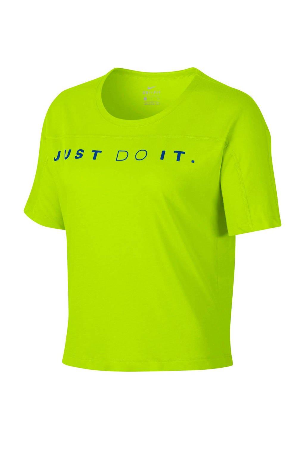 Nike hardloopshirt groen, Groen