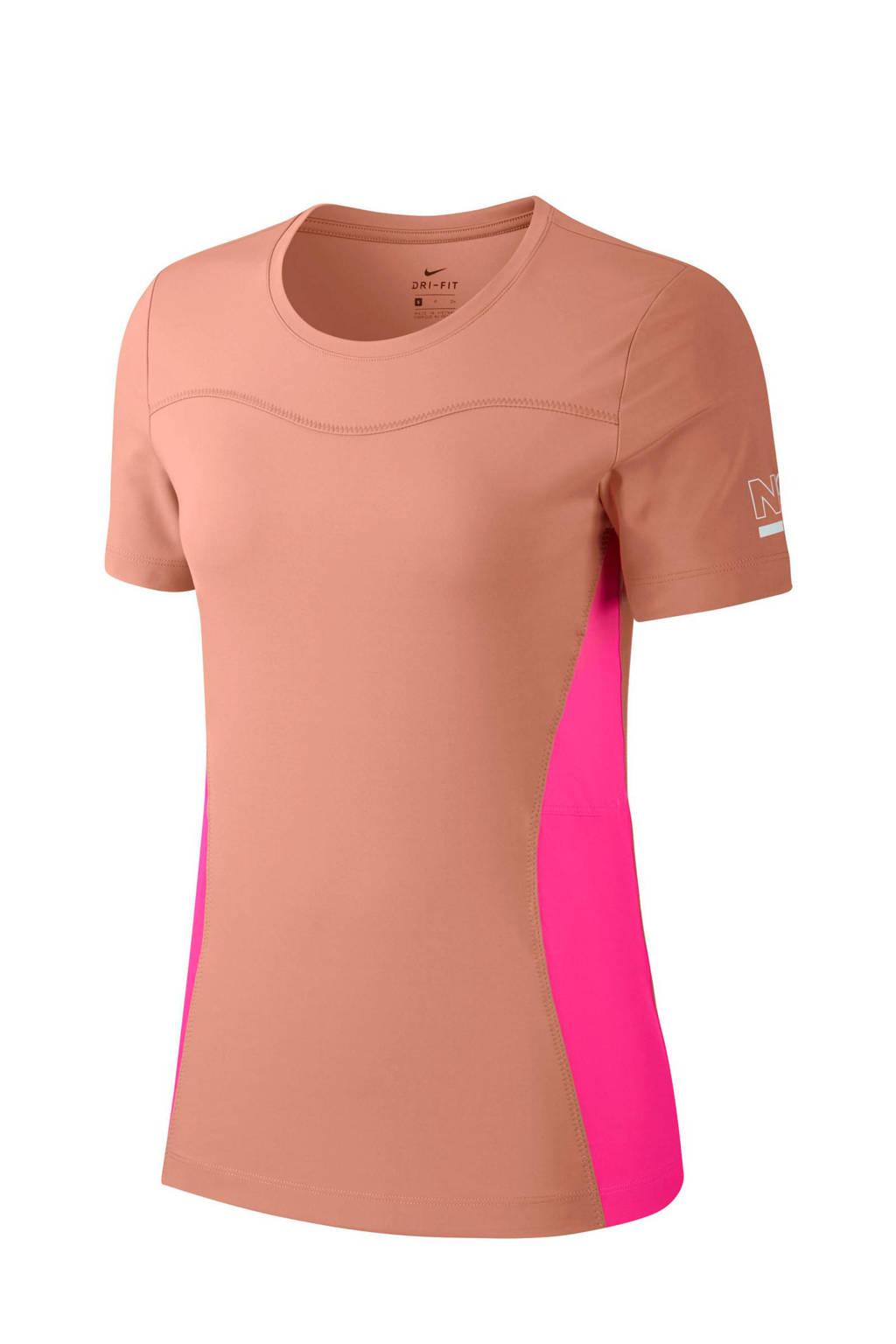 Nike sport T-shirt oudroze, Oudroze