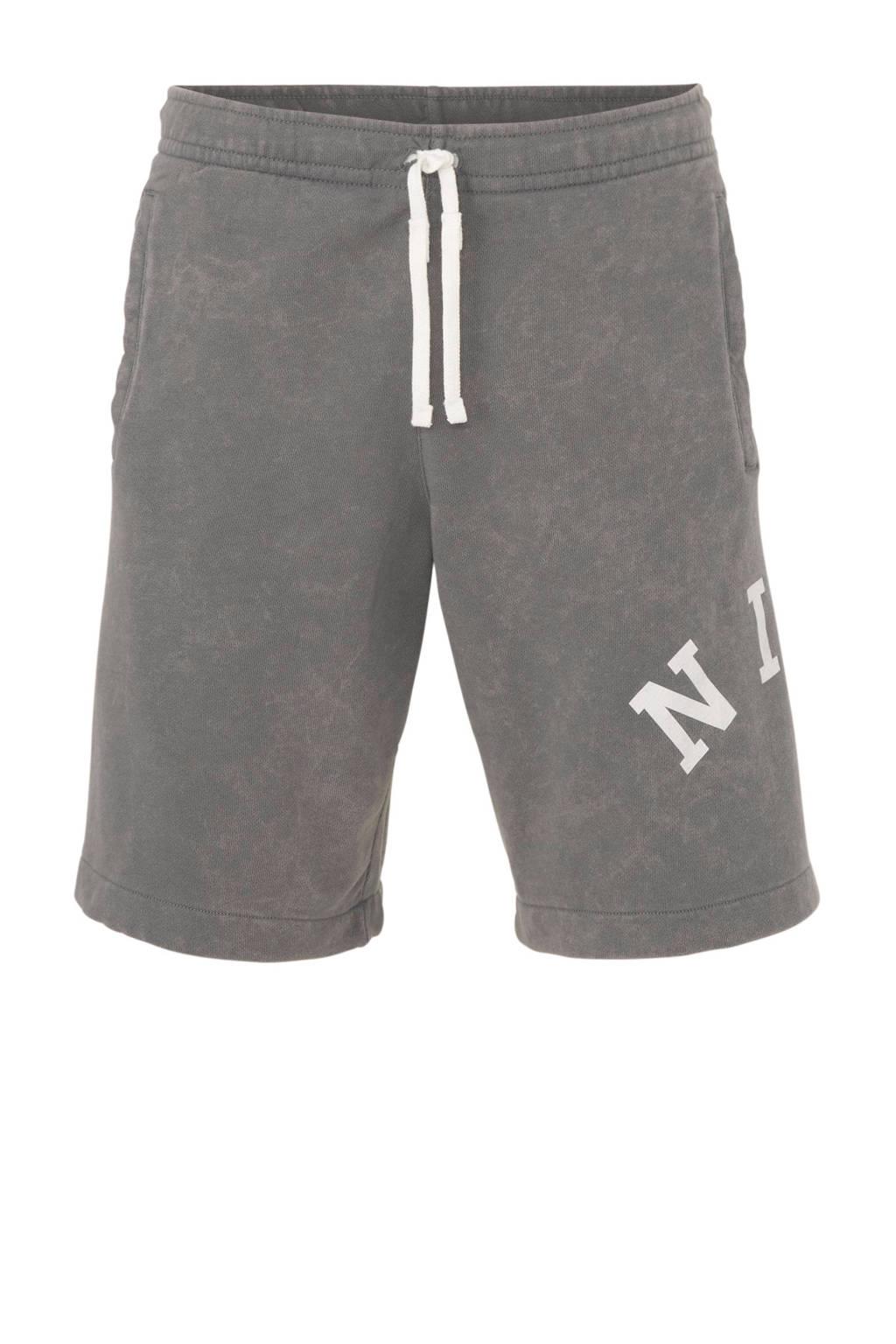 Nike   sweatshort grijs, Grijs
