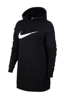 Nike sweater met printopdruk zwart/wit