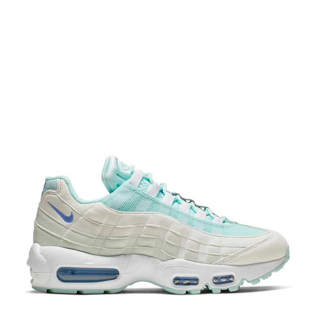 Nike Air Max 95 sneakers mintgroen, Mintgroen/ecru