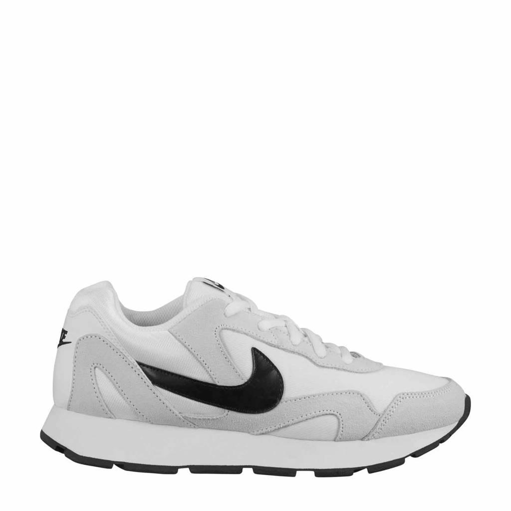 online store 56698 47672 Nike Delfine sneakers wit zwart, Wit zwart