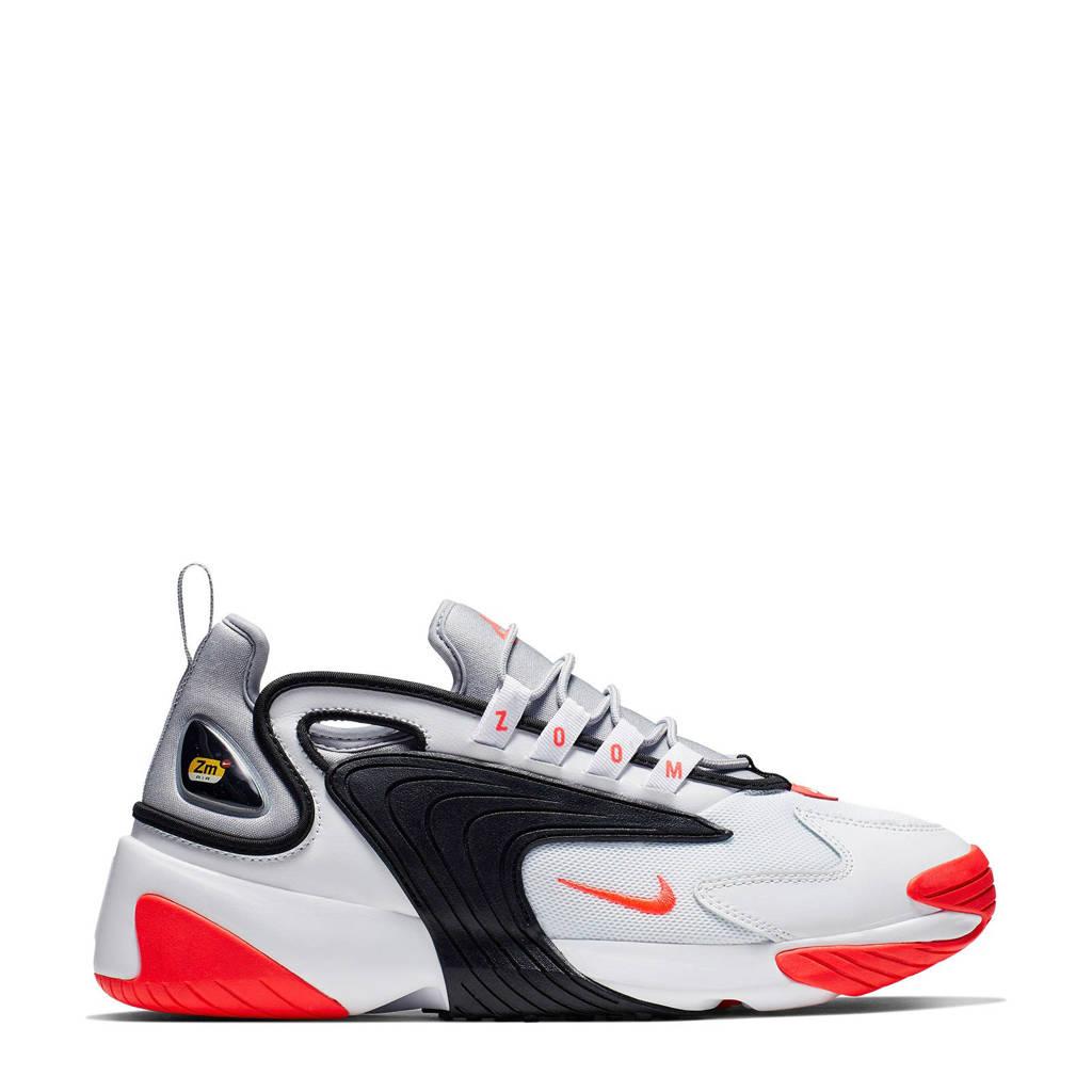 Nike  ZOOM 2K sneakers, Wit/zwart/rood