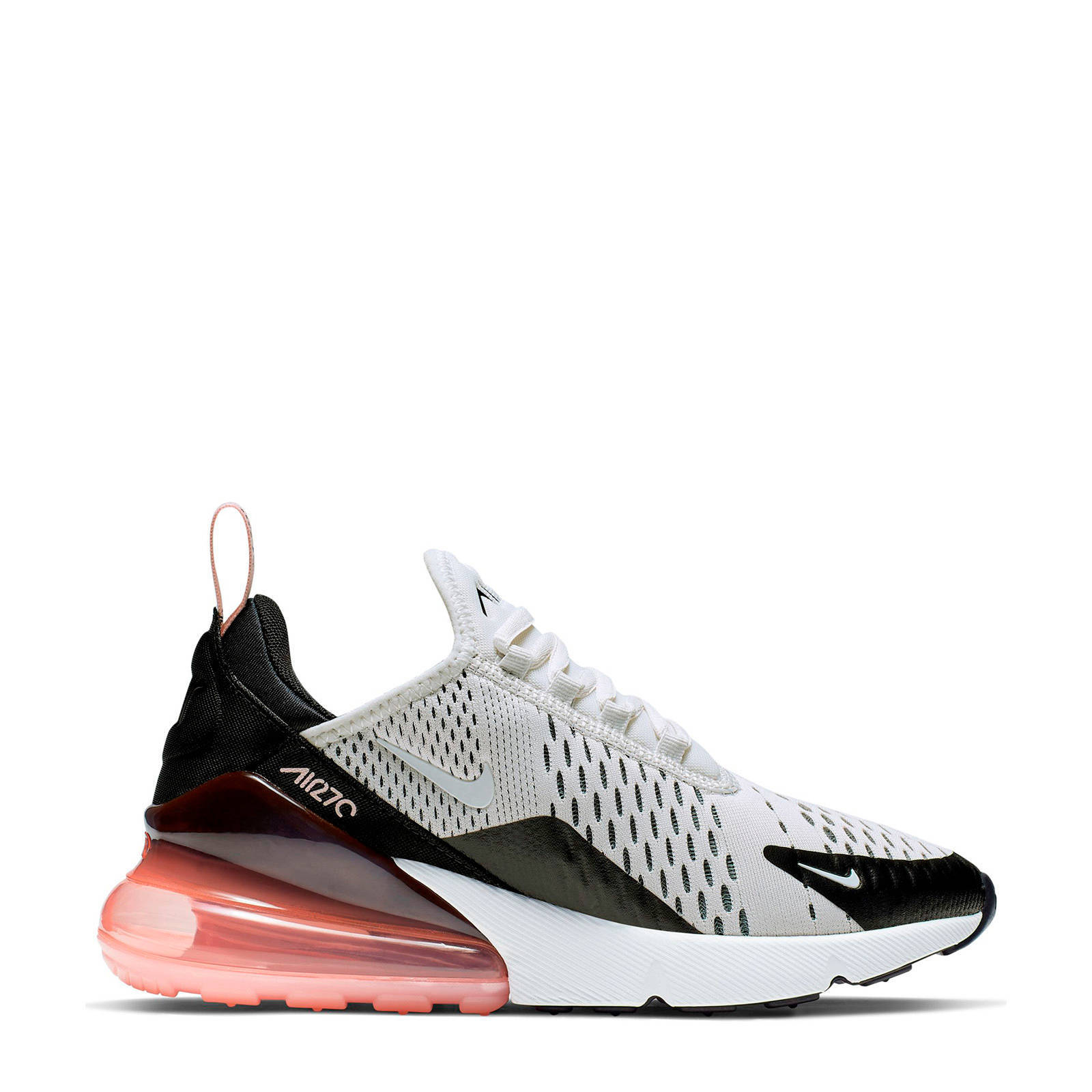 Nike Air Max 270 sneakers lichtgrijs/zwart | wehkamp