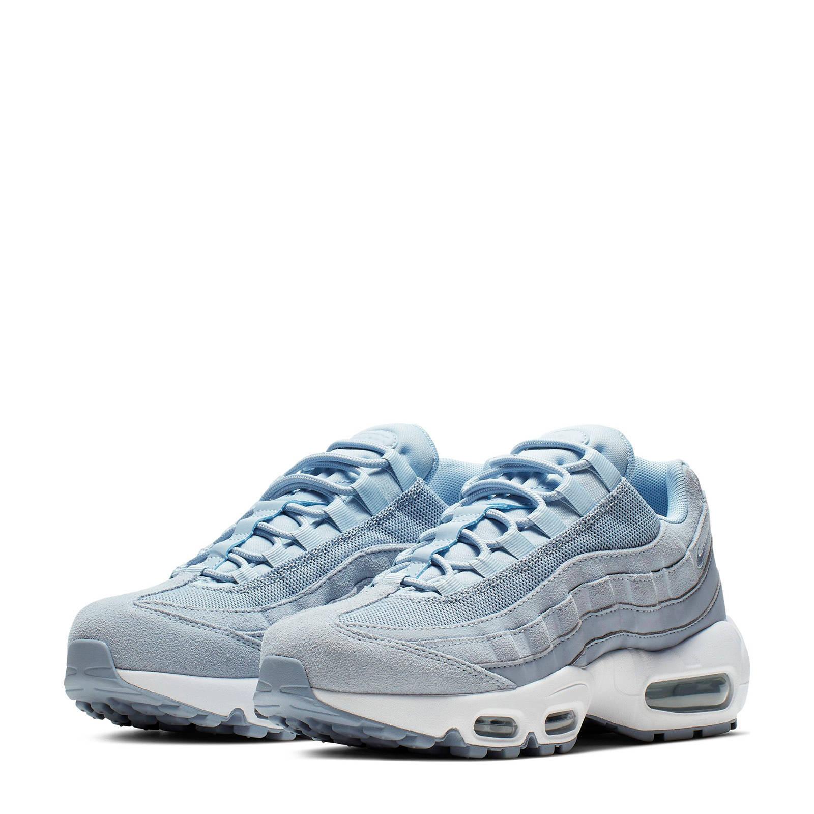 Nike Air Max 95 Prm sneakers blauw/wit | wehkamp