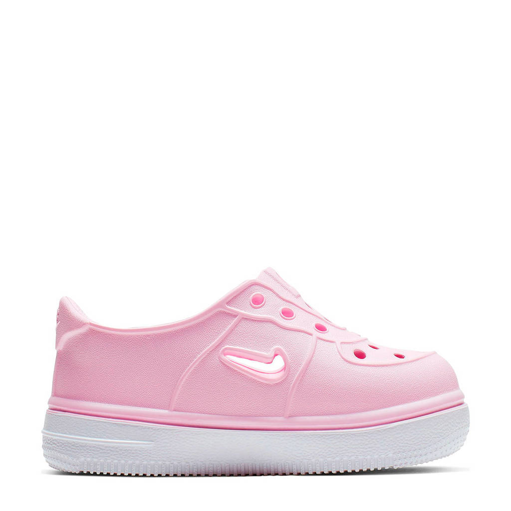 Nike Foam Force 1 sneakers roze/wit, Roze/wit