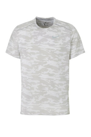hardloopshirt wit/beige