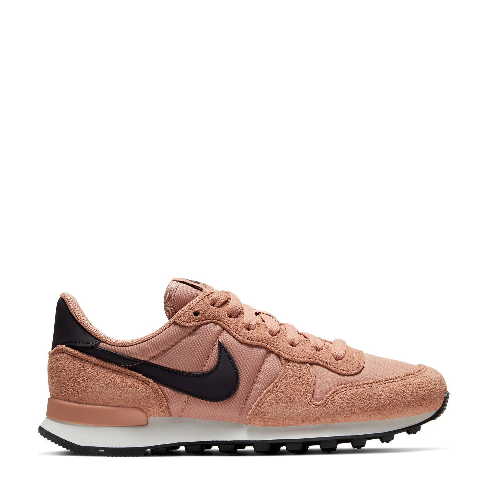 nike internationalist wit goud