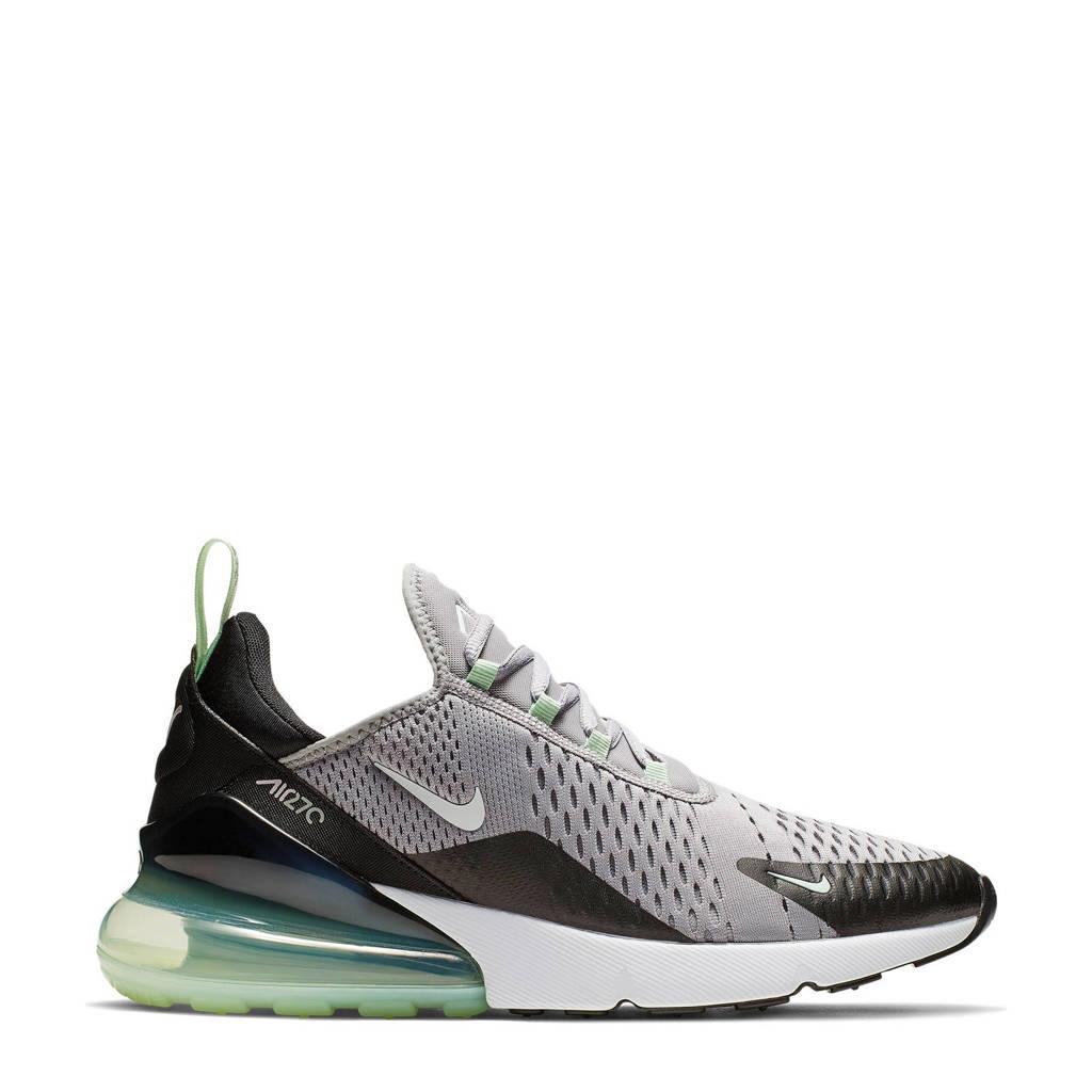 66ba66d08e5 Nike Air Max 270 sneakers grijs, Grijs/zwart/groen