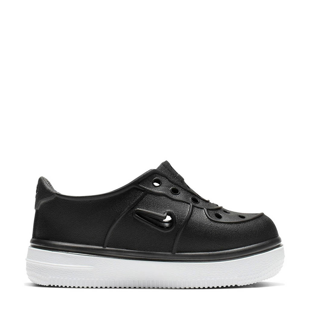 Nike Foam Force 1 sneakers zwart/wit, Zwart/wit