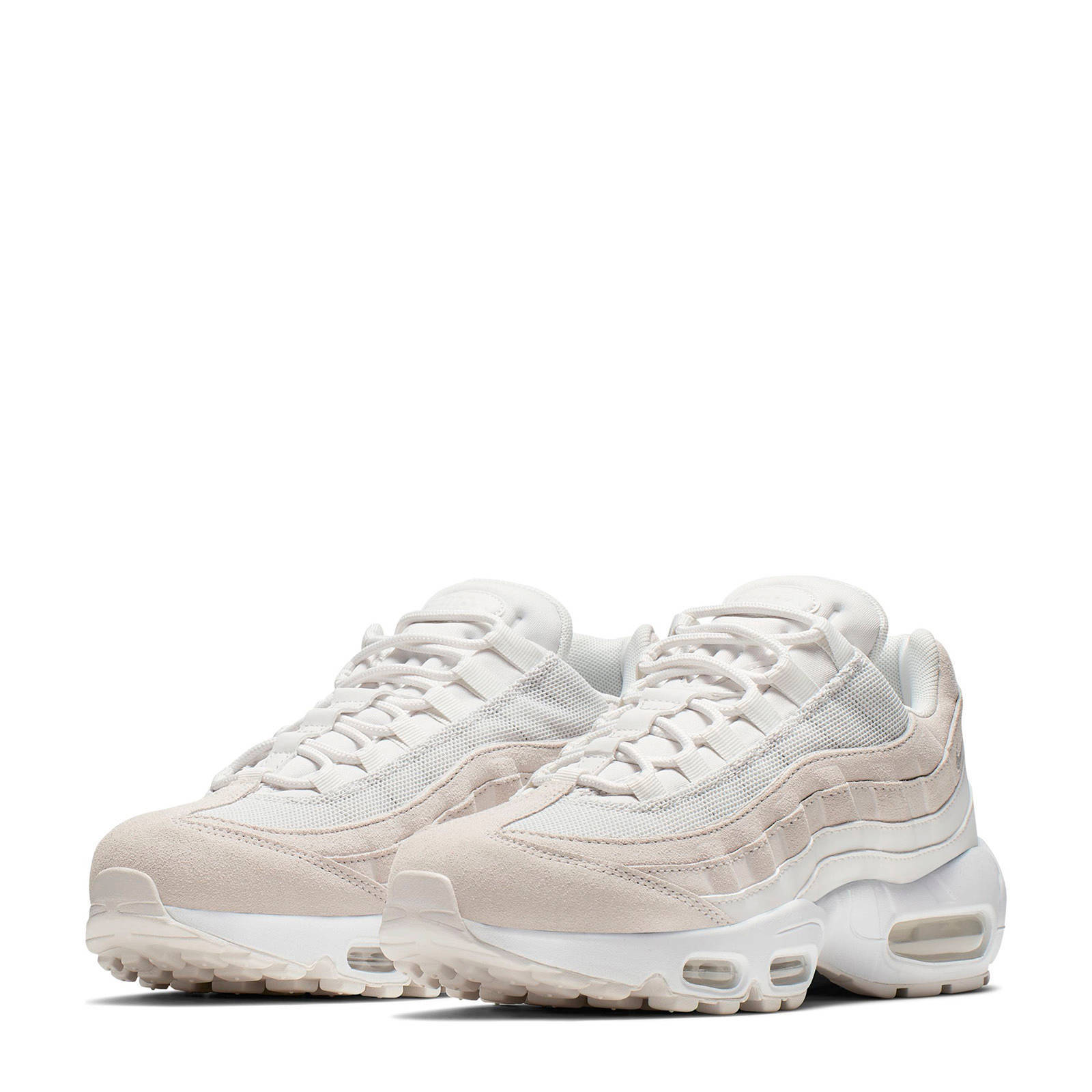 Air Max 95 Prm sneakers zachtroze/wit