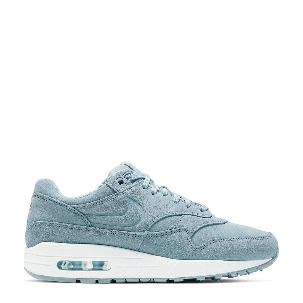 Nike  Air Max 1 Premium suède sneakers, Lichtblauw