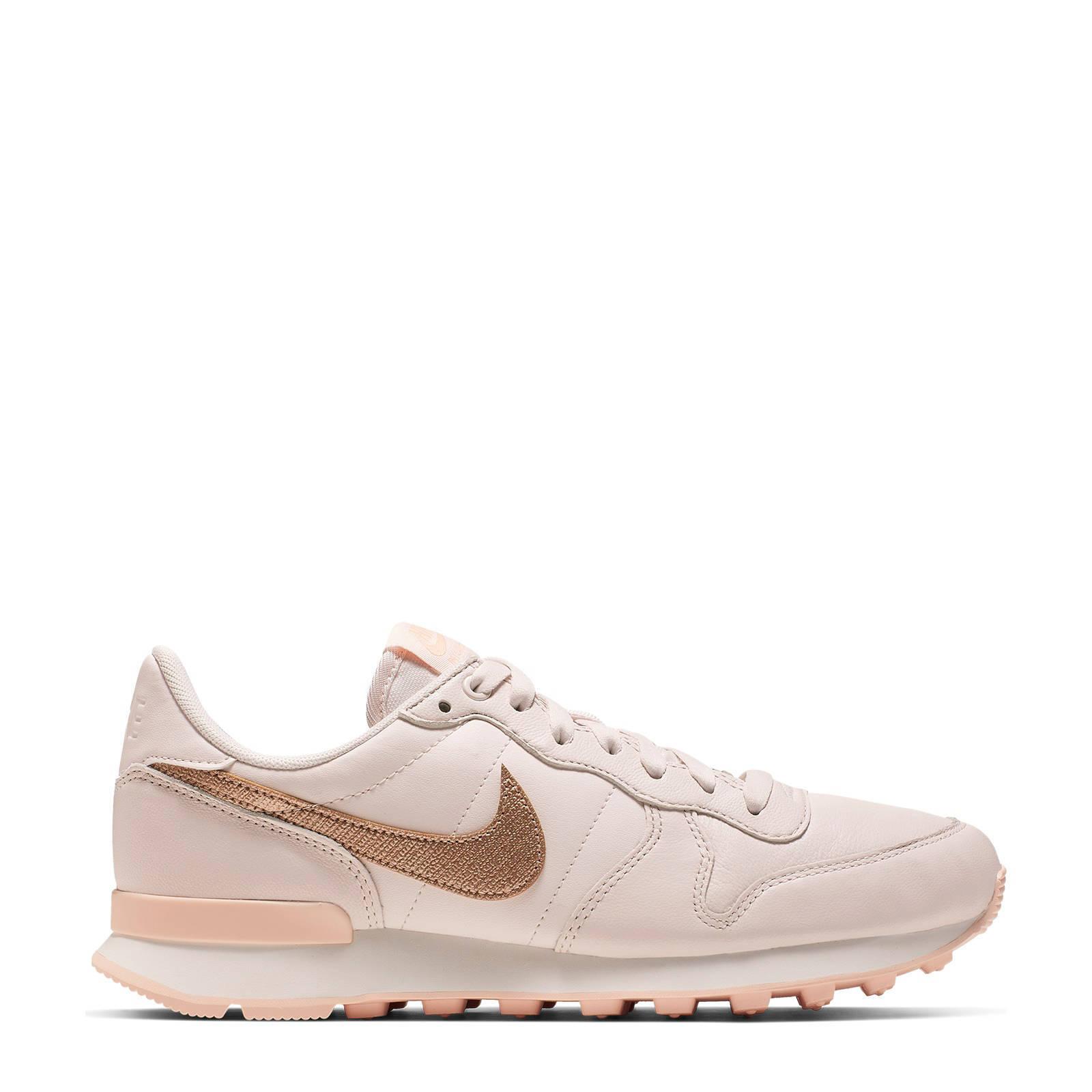 Nike Internationalist PRM sneakers roze   wehkamp