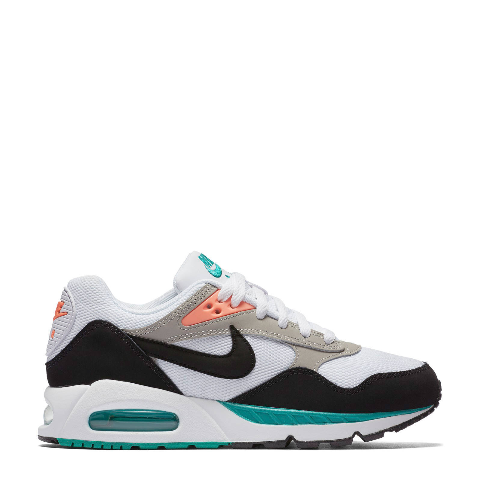 nike air max wit groen