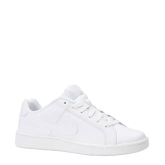 0105bbbb6aa Court Royale leren sneakers wit