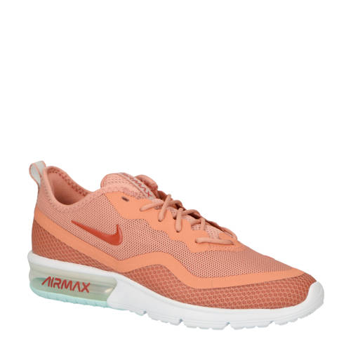 Nike Air Max Sequent 4 sneakers zalm kopen