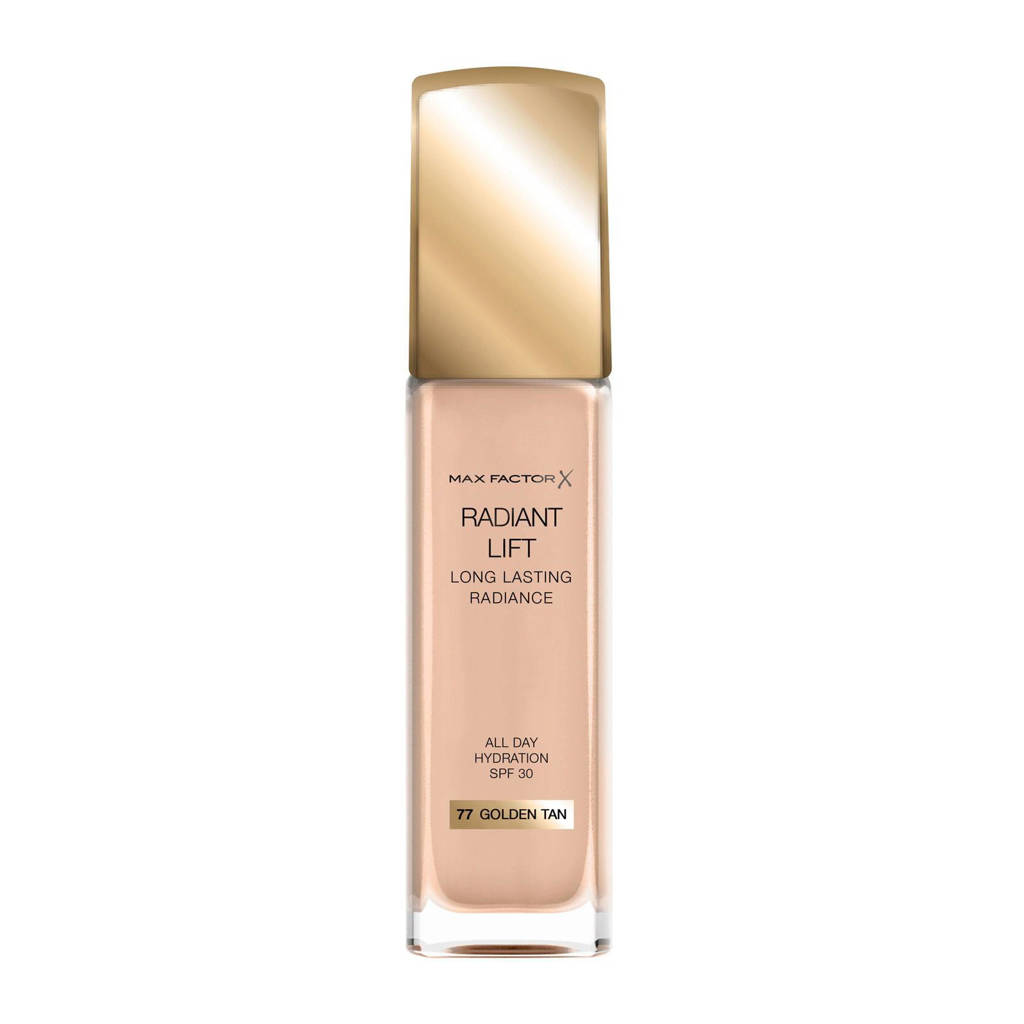 Max Factor Radiant Lift foundation - 77 Golden Tan