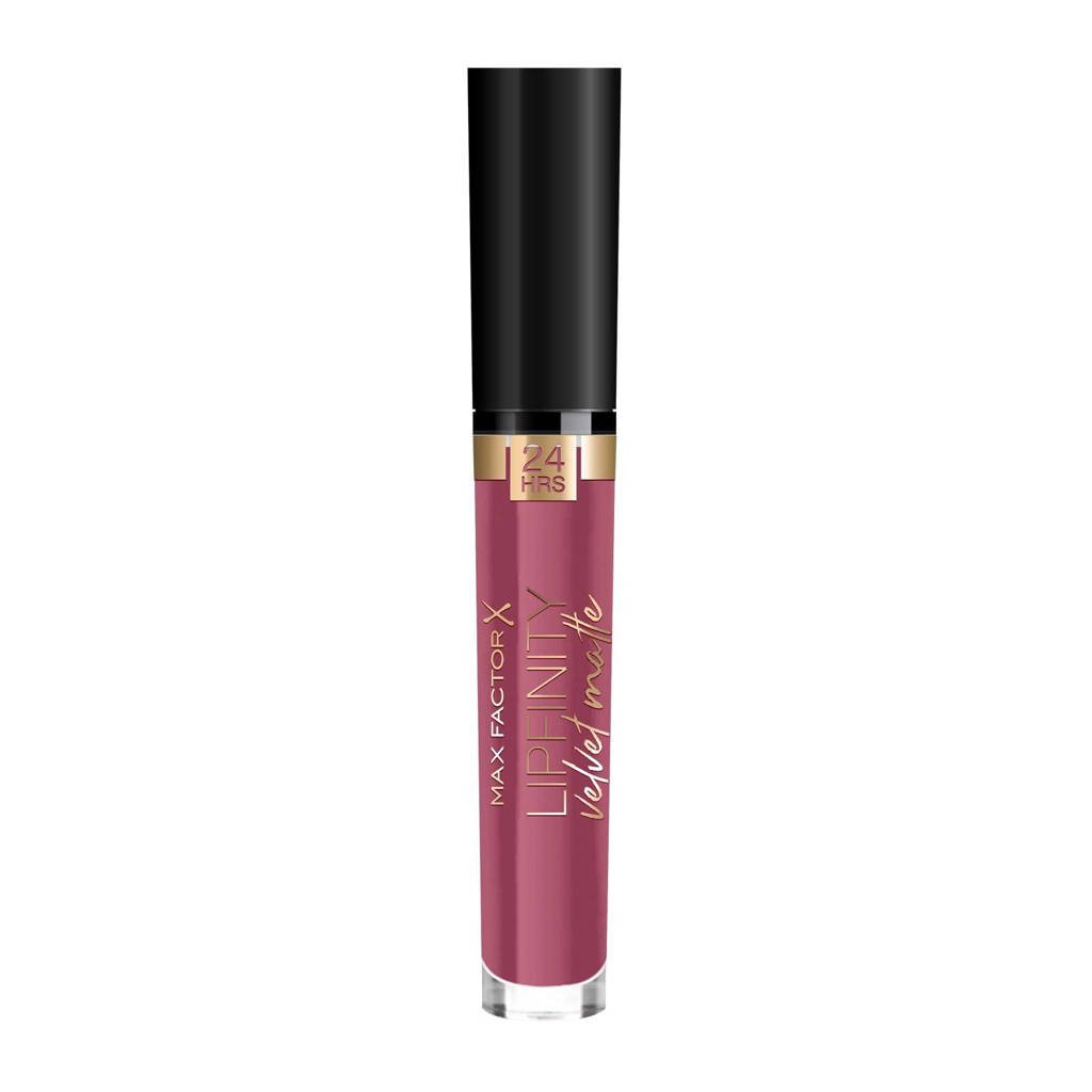 Max Factor Lipfinity Velvet Matte Lipstick - 005 - Matte Merlot, 005 Matte Merlot