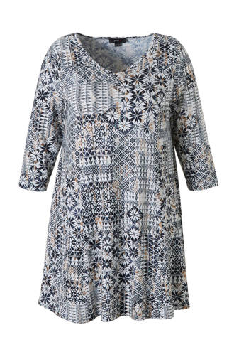 tuniek met all-over print