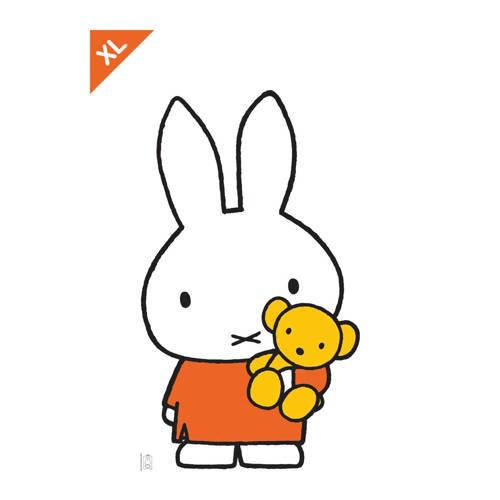 KEK Amsterdam Muursticker XL nijntje met kleine beer