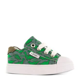 sneakers met dino's groen