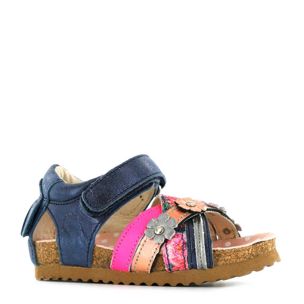 Shoesme leren sandalen blauw, Marine