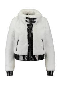 CoolCat jas van imitatiebont wit (dames)