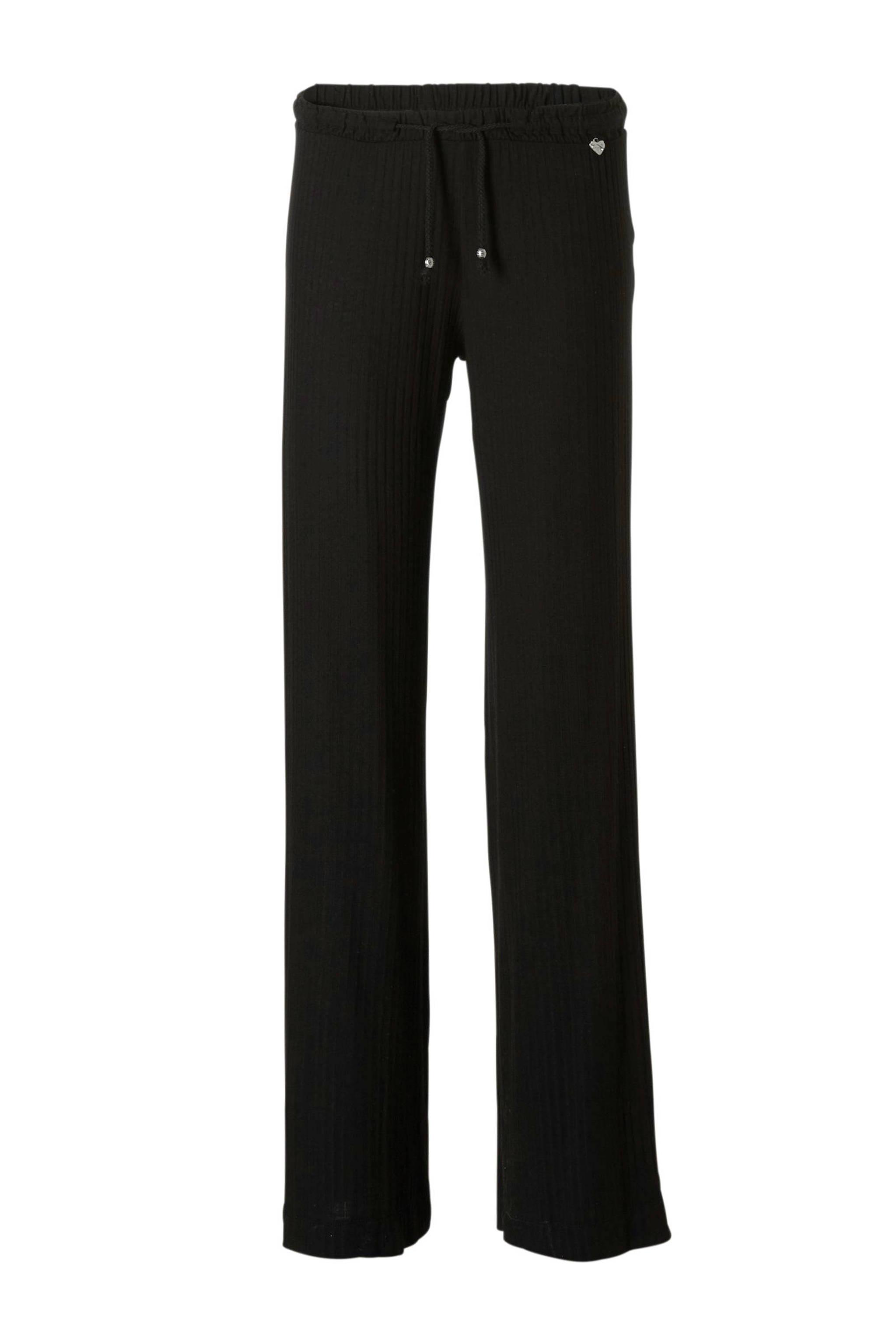 52c2848e203271 Mat Fashion broek met wijde pijpen zwart | wehkamp
