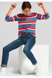 Street One regular fit jeans blauw, Blauw