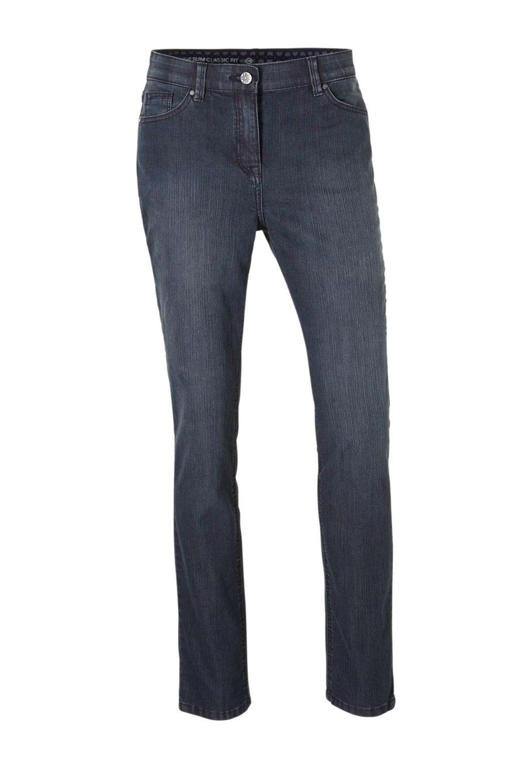 C&A The Denim slim fit jeans donkerblauw, Donkerblauw