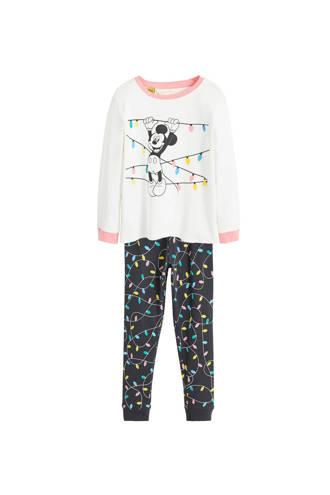 pyjama met Mickey Mouse wit