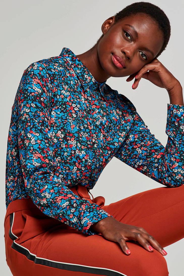 Aaiko blouse bloemenprint Aaiko Finou met blouse bloemenprint met Finou xqgITT