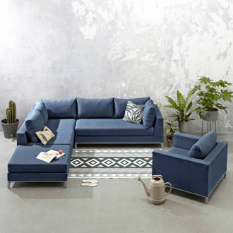 all weather loungeset (links) met fauteuil