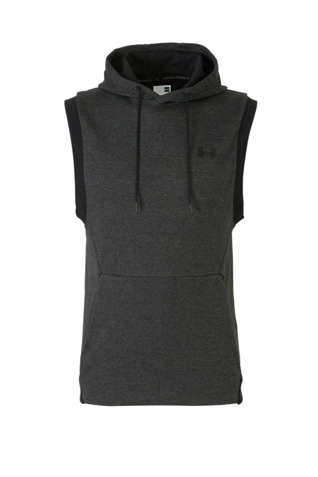 Under Armour   sweater antraciet/zwart, Antraciet/zwart