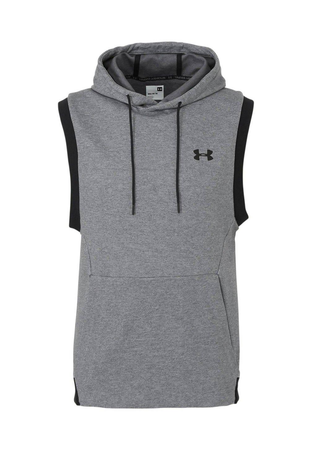 Under Armour   sweater grijs/zwart, Grijs/zwart