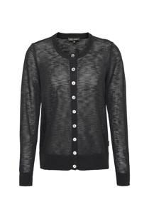 Didi semi-transparant vest zwart (dames)