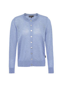 Didi semi-transparant vest Spree blauw (dames)