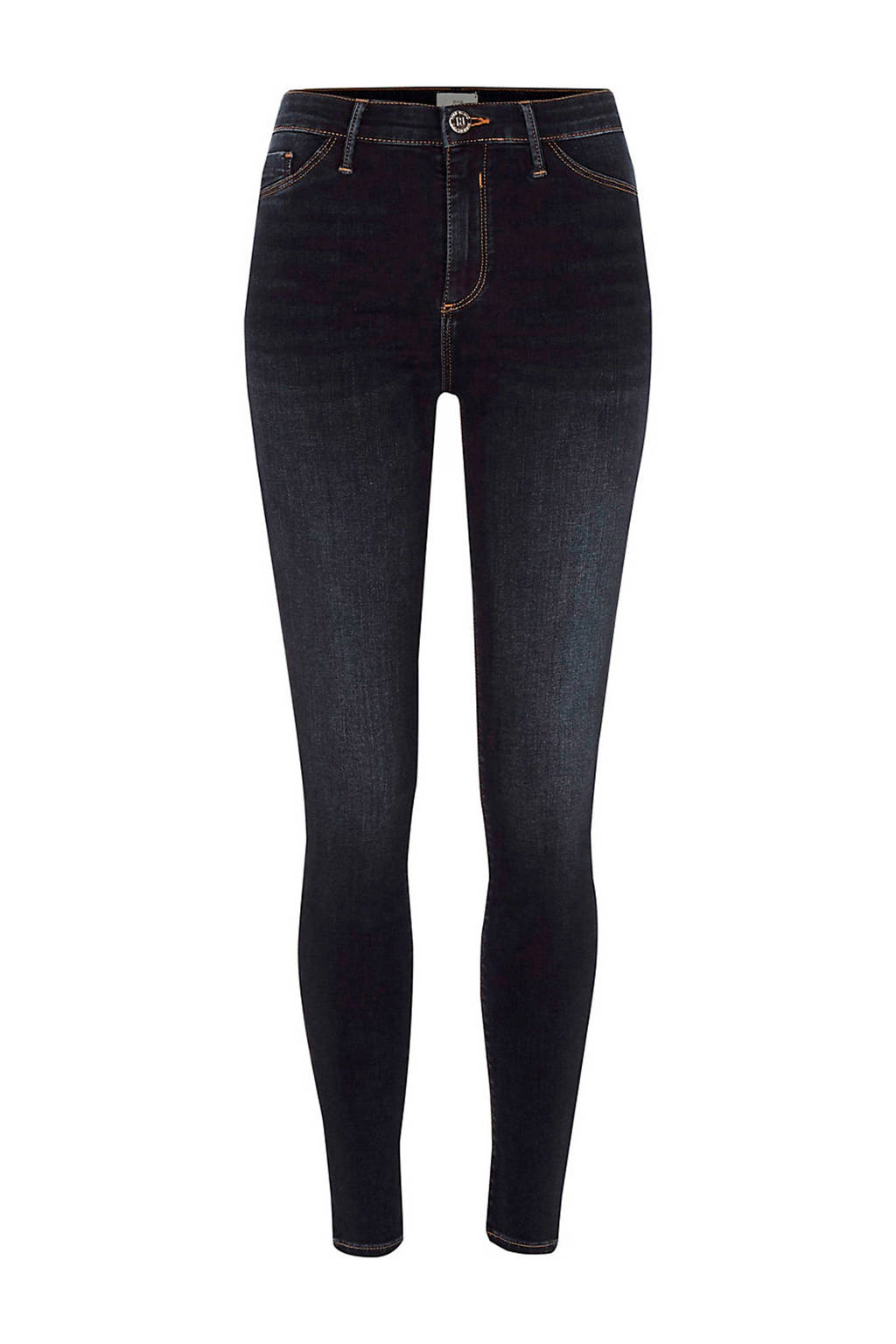 River Island skinny jeans Molly, DARK AUTH