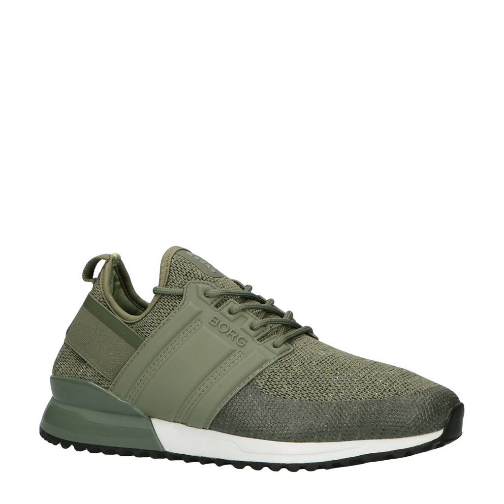 Björn Borg   R220 LOW SCK MLG M sneakers groen, Groen