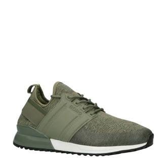 R220 LOW SCK MLG M sneakers groen