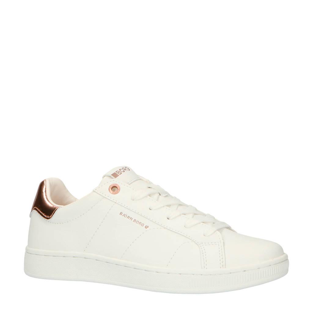 Björn Borg   T305 LOW CLS W sneakers wit/rosé, Wit/Rosé goud