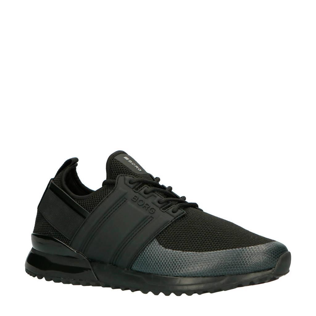 Björn Borg   R220 LOW SCK KTP M sneakers zwart, Zwart