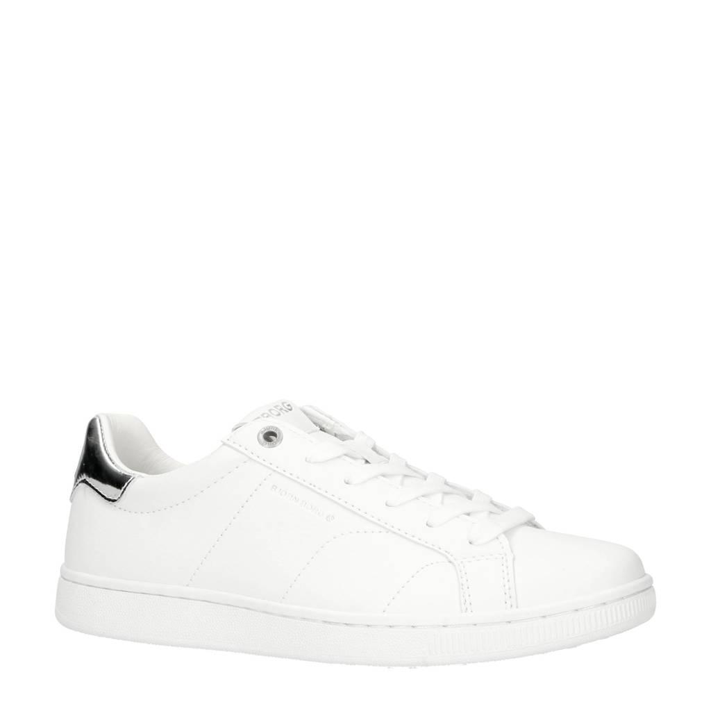 Björn Borg   T305 LOW CLS W sneakers wit/zilver, Wit/zilver